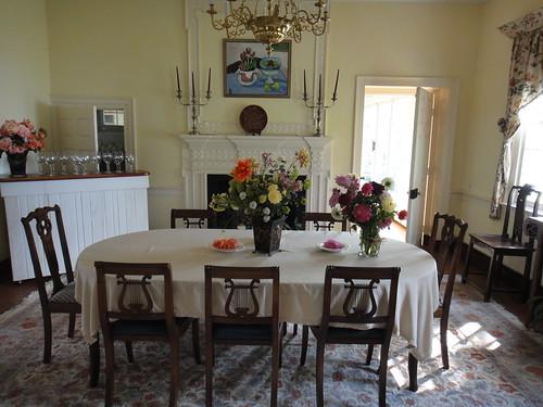 Diningroom at Woodlawn Bed & Breakfast, Ridge