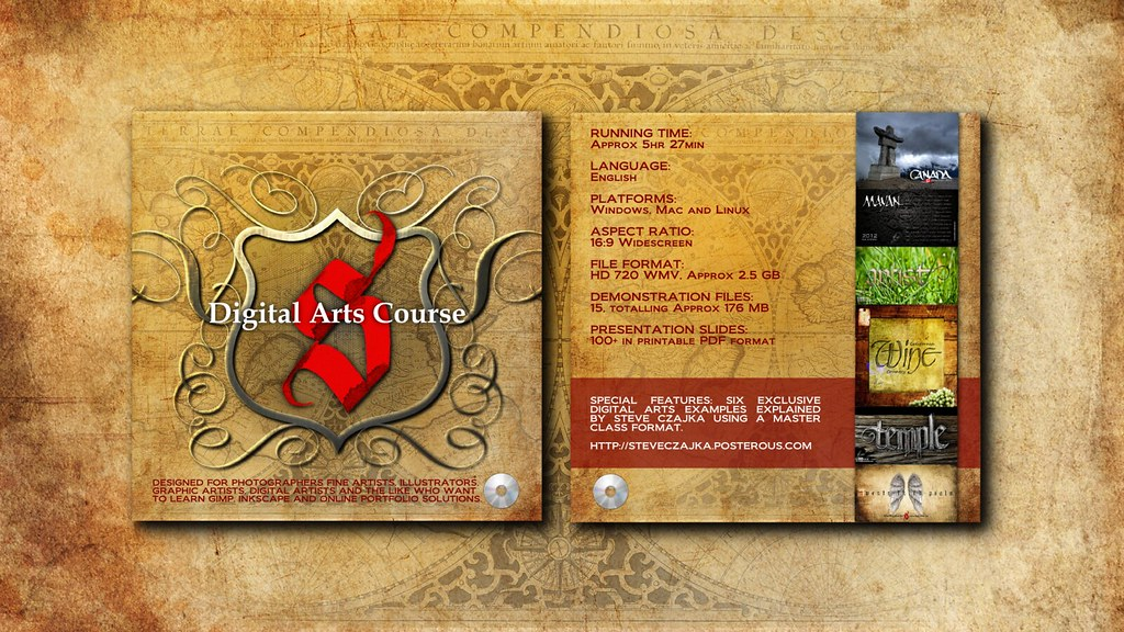 Digital Arts Course DVD - GIMP Inkscape | Read more about th… | Flickr