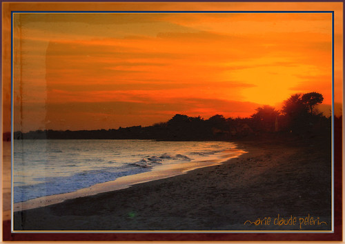 sunset sea france beach brittany sarzeau maïclo rememberthatmomentlevel1 lerohalinguen