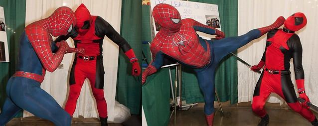 BREAKING NEWS: Spidey Knocks Out Deadpool!!!
