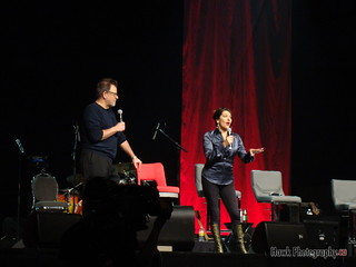 Jonathan Frakes and Marina Sirtis | by Hawk Photogrpahy