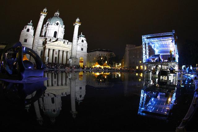 Popfest Karlsplatz Vienna 2012