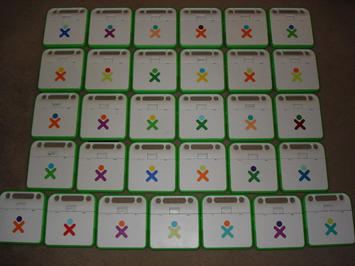 31 XO Laptops, by color...   by mahlness