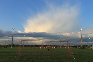 Storm Cloud over Ft. Snelling