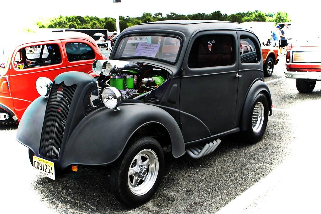Ford Anglia Gasser Old Time Drags Englishtown,N J    Flickr