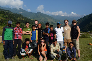Porters, Cook, Guide and Trekkers | by chrisstreeter