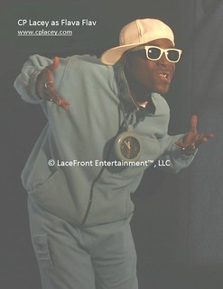 8. CP Lacey as Flava Flav - Stamp FINAL | by The CP Lacey Show