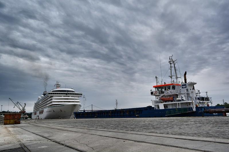 CRYSTAL SERENITY - Port de Bordeaux / Bassens - Bordeaux - 20 avril 2014