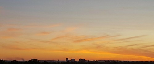 sunset tower bartlesville soonerpark cloudsstormssunsetssunrises galaxys6