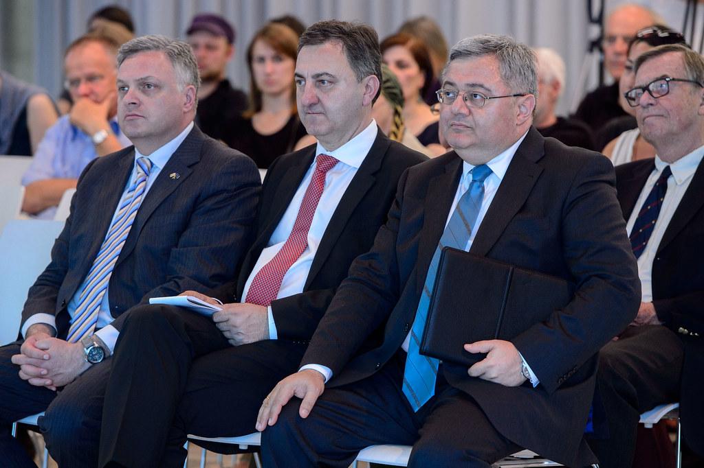 Giorgi Baramidze, Lado Chanturia, David Usupaschwili