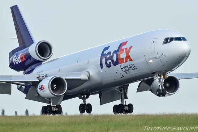 [CDG] FedEx Express McDonnell Douglas MD-11F