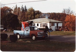 MY 1977 DODGE TRUCK IN OCT 1982