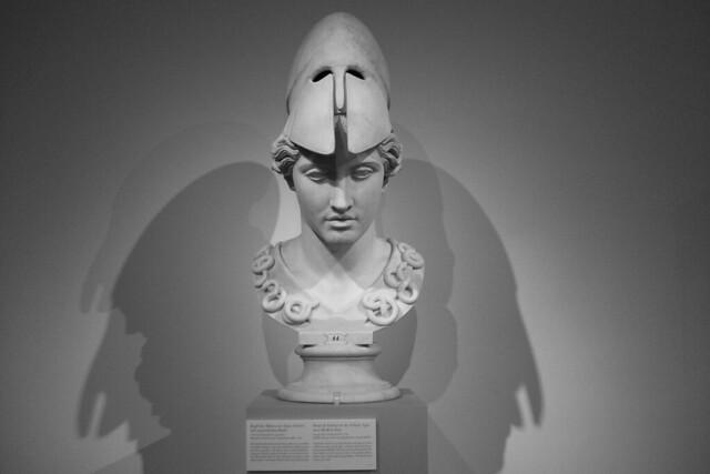 Berlin: Altes Museum Head of Athena