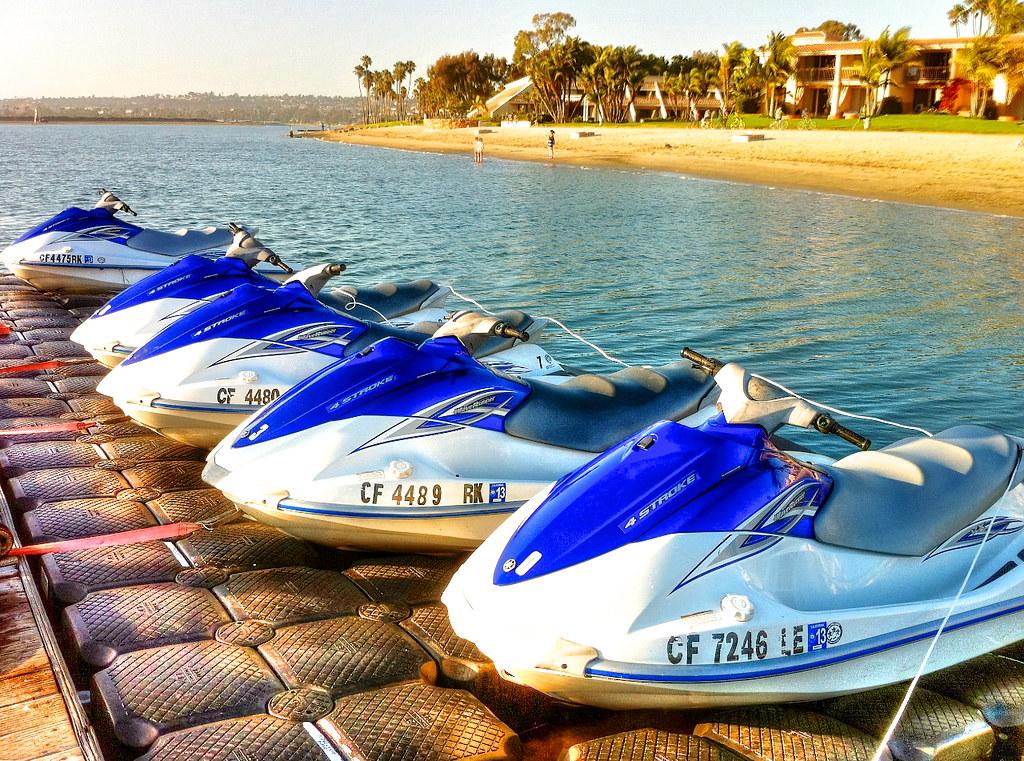Jet Skis Mission Bay | Mission Bay Hilton, San Diego, Califo… | Flickr
