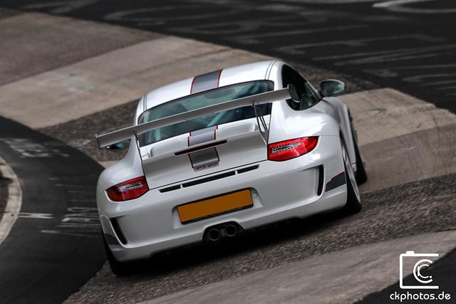 Porsche 911 GT3RS 4.0 @ Nordschleife Karussell