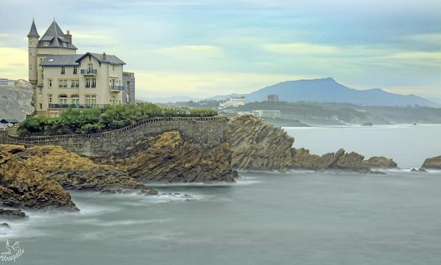 Un lugar increible- Chateaux Belza- Biarritz