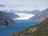 Výhled na fjord a telící se ledovec Qoorup Sermia, foto: Libor Hnyk