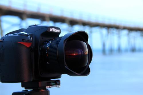 sunset reflection nikon atlanticbeach rokinon8mm cllphoto