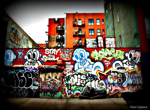 Lower East Side Manhattan Graffiti
