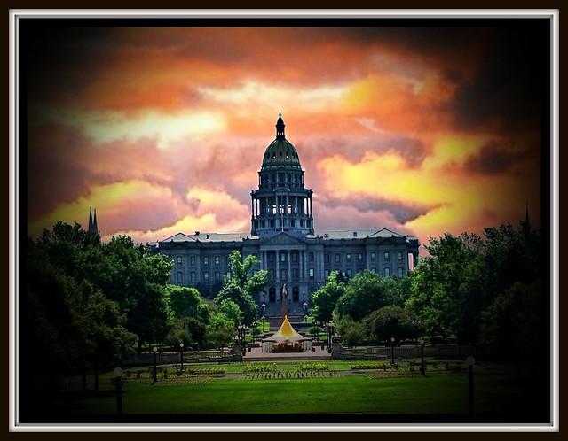 Colorado State Capitol ~ Denver Co