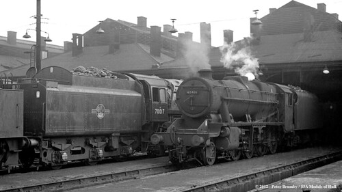11/1963 - Willesden (1A) MPD, London. | by 53A Models