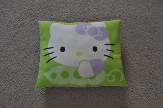 Hello Kitty Pillow (Front) | by pelennor