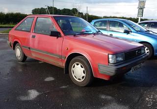 1986 Nissan Cherry 1.3GS (N12) | by Spottedlaurel