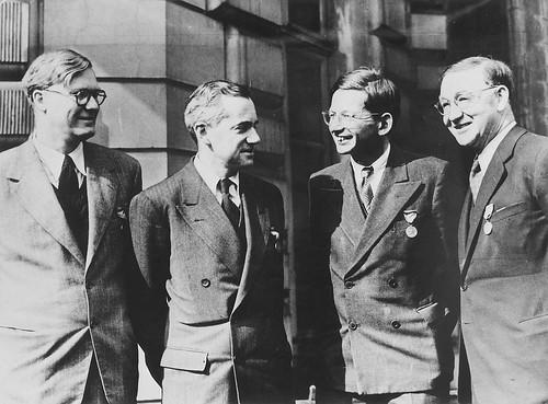 Penney William Otto Frisch Rudolf Peierls and John Cockr