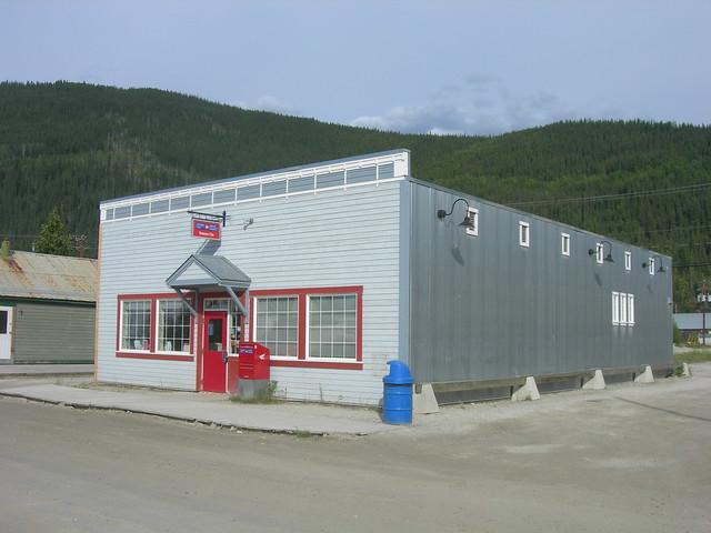 Dawson City, Yukon Post Office