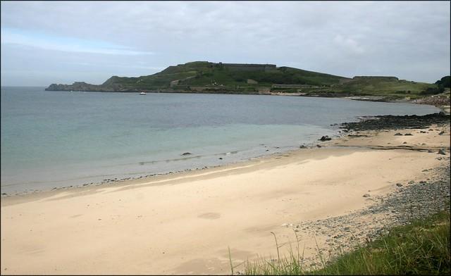 Braye beach, Alderney