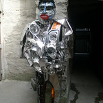 Wed, 08/08/2012 - 9:41am - A man made entirely out of car parts,