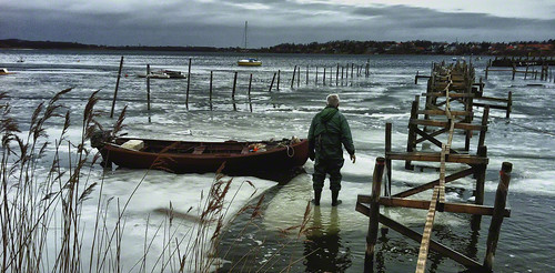 The old fisherman and the frozen sea | by vinergodt
