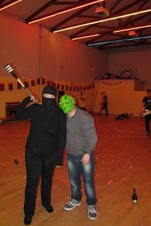 Laser-ninja