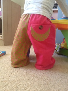 Mr Two Face Pants with a girly twist