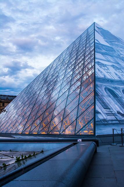 Pyramide en couleur