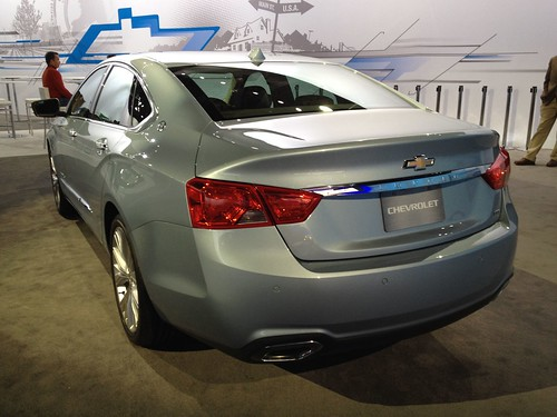 2014 Chevy Impala at the 2012 New York International Auto Show Photo