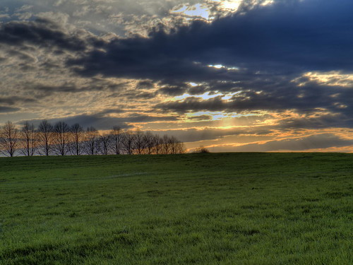 sunset green grass clouds worship hill nj christian bliss powerpoint hdr slope exxon grassy 4x3