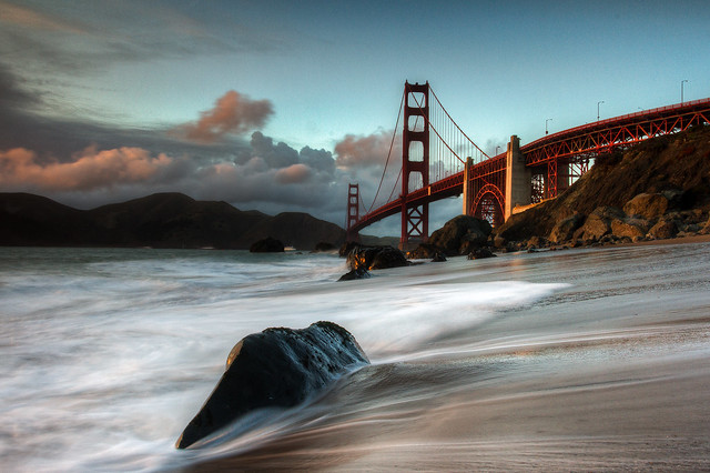 Marshall Beach - Golden Gate Bridge