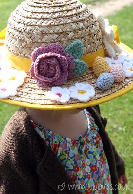 Crochet Easter Bonnet