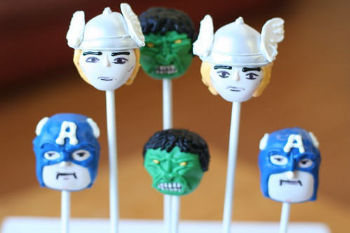 Super Hero Character Cake Pops | by Sweet Lauren Cakes