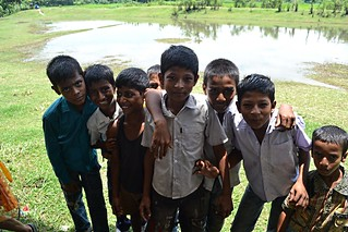 Jele (fishermen community) children, Mayadip Island, Sonargaon | by The Advocacy Project