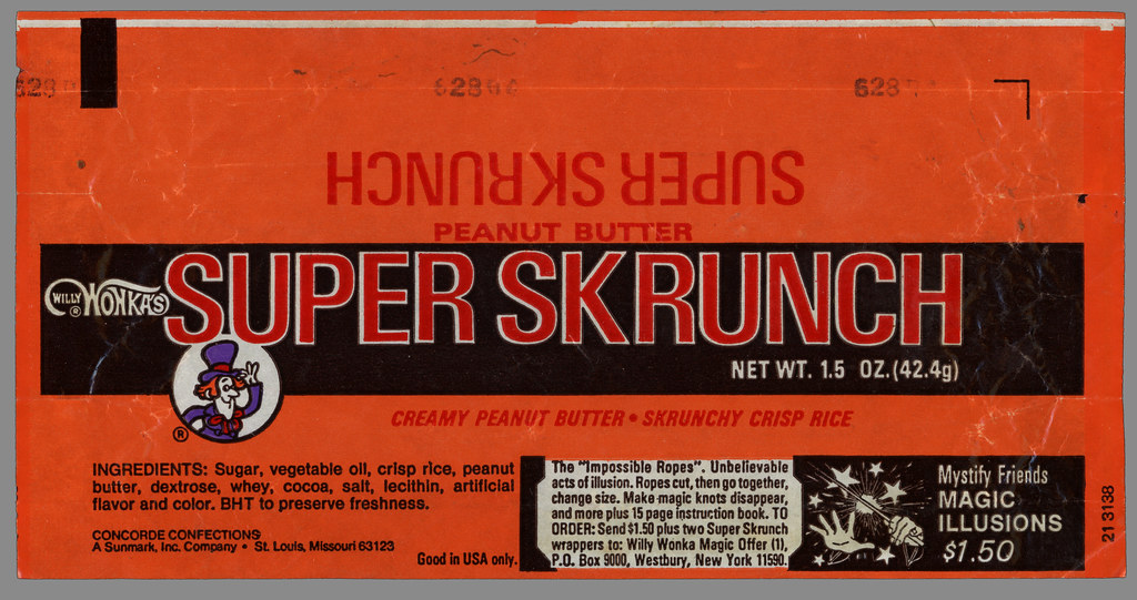 Sunmark-Concorde - Willy Wonka's - Super Skrunch - Magic I… | Flickr
