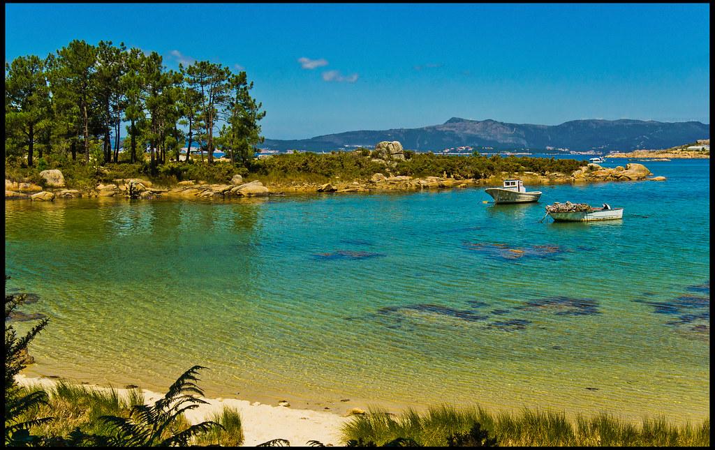 Cala en la Illa de Arousa   Vista de una de las numerosas ca…   Flickr