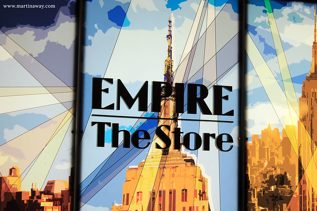 Empire State Building, the store.
