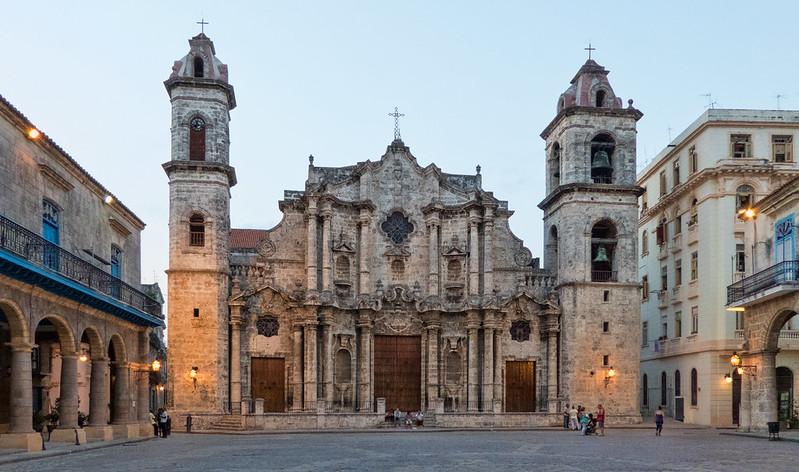 Habana Cathedral - Sunset - Habana Vieja