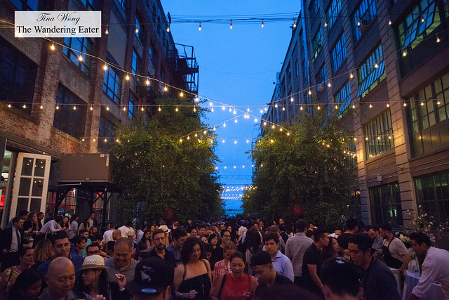 Outdoor space at LUCKYRICE New York Feast 2016