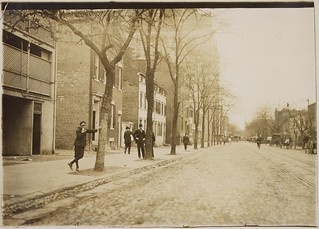 View of Red Light District on C Street, N.W. near 13th, April 1912
