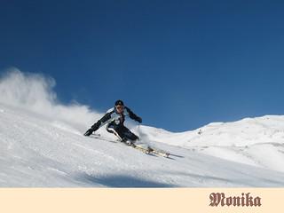 Skifahrer Haideralm