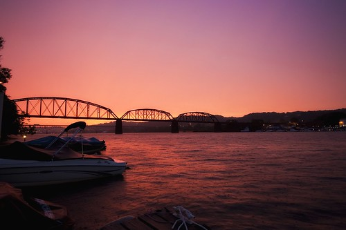 sunset storm night boat nikon pittsburgh clear alleghenyriver d700 davedicello hdrexposed