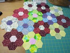 Hexagons Florettes